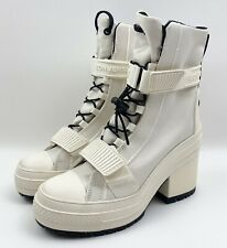 Converse Chuck Taylor All Star GR82 Triple White Womens Size 6 Heel Boot 566326C