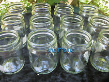 SET OF TWELVE  Fowlers Vacola  Preserving  JAR ONLY #14 small 350ml size