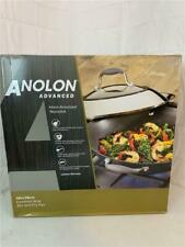 "Anolon Advanced 14"" Covered Wok Stir and Fry Pan"