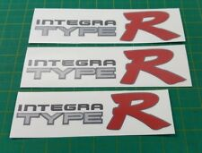 Integra Type R Type-R  DC2 decals stickers side rear replacement JDM DB8 Mugen