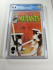 New Mutants 26 (CGC 9.4) 1st full app. Legion; Sienkiewicz; Marvel; 1985