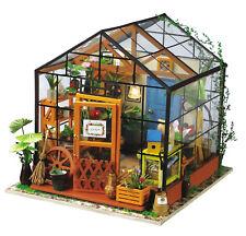 Genuine Robotime Kathy's Flower House DIY Dollhouse 3D wooden model kit AUS