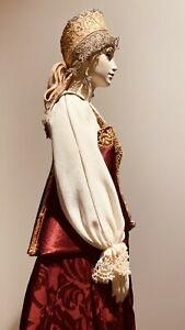 "23"" ARTIST Porcelain MARYA 106/175 Alexandra Koukinova Ltd Edition Handmade Doll"