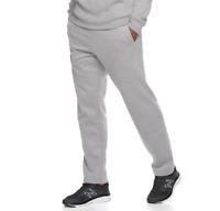 Men's Tek Gear Ultra Soft Fleece Pants, Grey, Sizes: S, L, XL, XXL