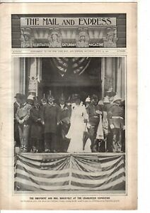 1902 Mail & Express April 19 - Teddy Roosevelt; Lots of Baseball; Dumont; autos