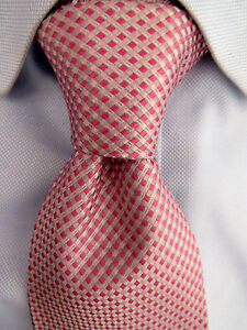 Men's Banana Rebublic Pink Classic Polyester Tie 18792