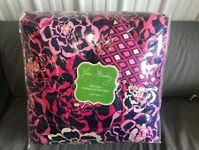 Vera Bradley Katalina Pink Reversible 2 Piece Twin/ Twin XL Comforter Set NEW