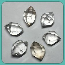 6 Clear Quartz 'Herkimer Diamond' Crystal Mined In Yunnan China 2g