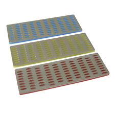 Diamond File Card Set 3Pce Woodwork Sharpening Silverline 349756