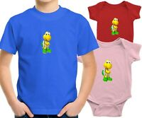 Toddler Kids Tee T-Shirt Infant Baby Bodysuit Gift Print Cute Koopa Turtle Mario