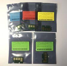 5 x Toner Chips CLT-504S for Samsung Xpress C1810W / C1860FW CLT-K504S CLT-C504S
