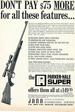 1968 Print Ad of Jana Parker-Hale Super Sauser Sporter 1200 Series Rifle