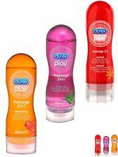 Durex Play Massage Gel Intimate Lube Sensual Stimulating Gel Aloe Vera 200ml