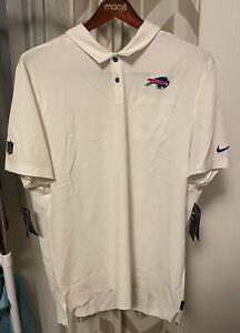 Nike Dry Fit Buffalo Bills NFL On Field Polo Shirt Mens 2XL AO3872-100  MSRP $85