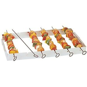 Fox Run Non-Stick Shish Kabob Set, Metallic