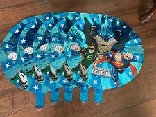5 Justice League Balloons: Batman Superman Mylar 18
