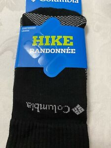 UNISEX!! columbia hiking lightweight merino crew socks,Size S