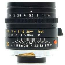 Leica 35mm f1.4 Summilux-M Asph 6-Bit Lens, Black (Boxed)
