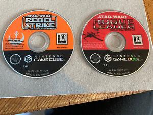 Star Wars Gamecube Bundle x2 *Discs Only*