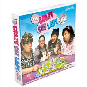 Archie McPhee The Crazy Cat Lady Board Game NEW