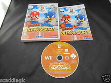 Nintendo Wii Game Mario and Sonic at the Beijing 2008 Olympics Complete