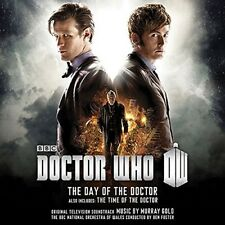 OST-ORIGINAL SOUNDTRACK TV - DOCTOR WHO-DAY OF THE DOCTOR 2 CD NEUF