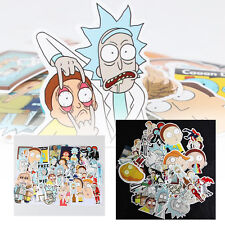 35Pcs Rick and Morty Car Sticker Decal Style Character Decoration Paper
