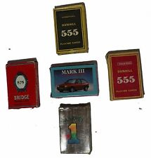 INDIAN OLD VINTAGE UNIQUE MIX PLAYING PAPER CARD 5Pc SET COLLECTIBLE