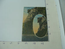 original Postcard -- OLD MAN of the MOUNTAIN white mtns new hampshire