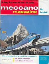 MECCANO MAGAZINE May 1965 Coventry Climax * USA C-5A Plane * Short Wave Radio