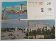 Lot Russland Sowjetunion 7 Postkarten Postcards mit eingedruckter Briefmarke