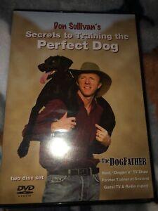 Don Sullivan's Secrets To Training The Perfect Dog DVD Set - NEW