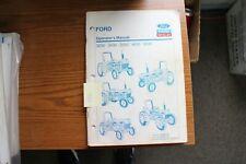 Ford Tractor 3230 3430 3930 4630 Amp 5030 Operators Manual