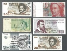 Europe 🎇 6 pcs banknotes 🎇 Collections & lots