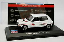 Ixo Carrera 1/43 - Talbot Samba Rallye 1983
