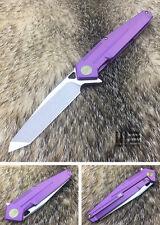 WE Knife 610B S35VN Blade Titanium Frame Lock Folding Knife