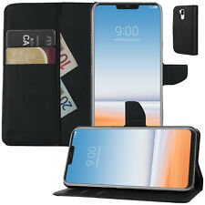 Buch Klapp Tasche Flip Book Cover Case Schutz hülle Etui für LG G7 ThinQ