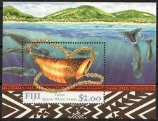 Fiji 1998 MNH MS. Tabua Sperm Whale, Marine Life