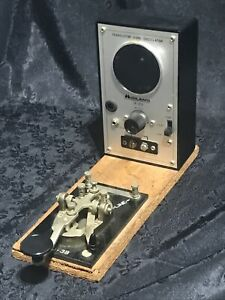 Midland Transistor Code Oscillator 18-273 Morse Signal Key CW Amateur Ham Radio