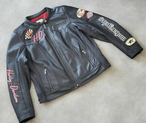 Women's Harley-Davidson JOYRIDE 3-IN-1 Leather Jacket size XL
