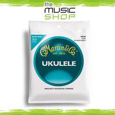 New Martin Clear Fluorocarbon 4 String Baritone Ukulele Strings 21-35 - M630