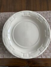 Longaberger Woven Traditions 12� Ivory Platter/Plate