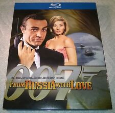 James Bond 007 : From Russia With Love (Blu-ray, 2008, Canada) w/ Slipcover NEW