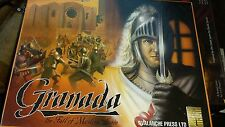 Granada: the fall of Moslem Spain board game. Avalanche press. Unpunched