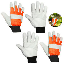 Large Gardening Gloves Protective Wear Gardener Outdoor Thorn Protection x 2