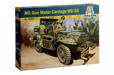Italeri 6555 M6 motor gun carriage 1/35