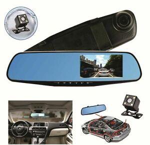 1080P Dual Lens 1080P Car Dash Cam DVR Reverse Mirror Video Recorder Camera