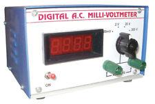 Single Phase Digital Ac Millivoltmeter For Laboratory Free Shipping
