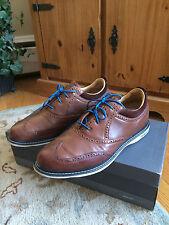 Ashworth Mens Encinitas Wing Tip Golf Shoes Size 11.5 $199
