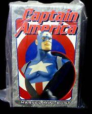 Captain America Bust New 2001 Factory Sealed Bowen Designs Marvel Comics
